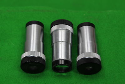 3 x Carl Zeiss Phako Phase Contrast Microscope Eyepieces Lens Laboratory Lab