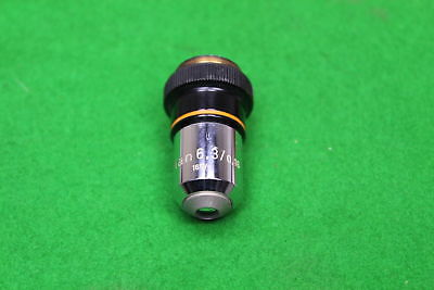 Carl Zeiss Microscope Objective Plan 6.3/0.16 160/- in Case