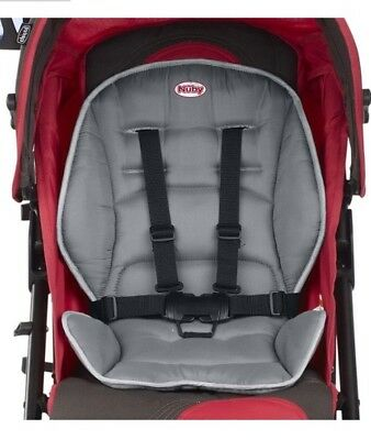 Nuby - Universal Stroller Reversible Seat Liner - Protection Cover - Easy Clean