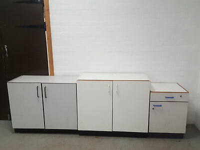 Job lot of 3 Various size / Brand Lab Cupboards Lab Cabinets