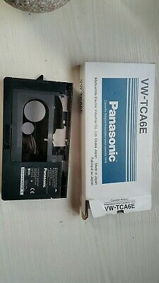 Panasonic VW-TCA6E VIDEO CASSETTE ADAPTOR - PLAY CAMCORDER TAPES IN YOUR VHS