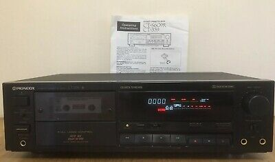 Pioneer CT-339 Cassette Deck + Manual - Dolby B + C - Excellent
