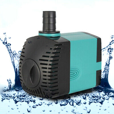 Submersible 200L/H–1200L/H Pond Fountain Fish Tank Water Feature Aquarium Pump