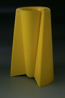 """Enzo Mari """" Pago Pago """" Vase For Danese In Yellow - 1969"""