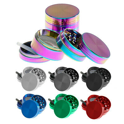 50MM Large Magnetic Stainless Spice Tobacco Herb Grinder Pollen Catcher