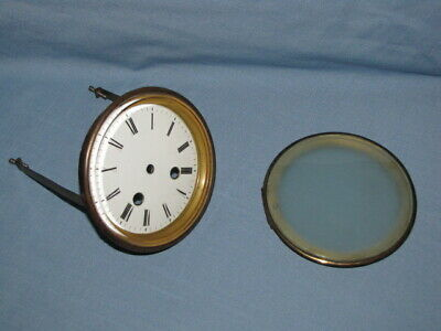 Antique French Mantle Clock Dial & Bezel