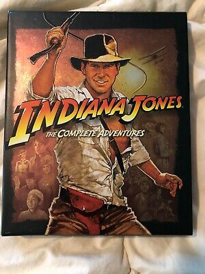 Indiana Jones - The Complete Adventure Collection (Blu-ray, 5-Disc Set