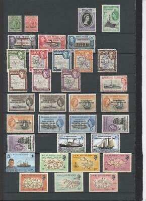 Falkland Islands Collection On 7 Pages