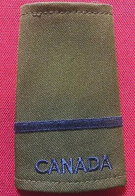 Canadian Armed Forces OD Green- Air Force -Officer Cadet Slip On