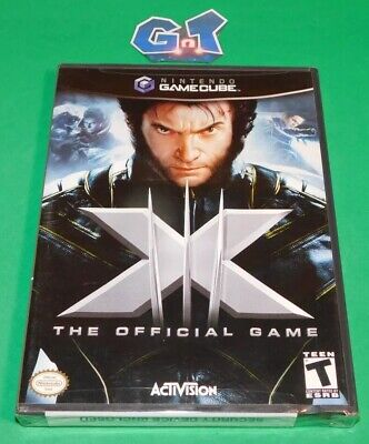 X-MEN: THE OFFICIAL GAME NEW Nintendo Game Cube CIB Disc, Case, Manual SEALED