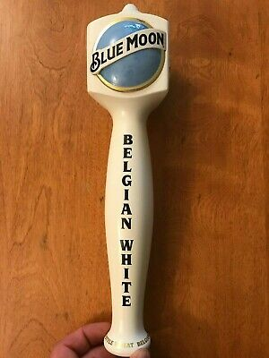 Blue Moon Belgian White Tap Handle