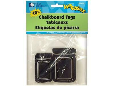 Forster For1024201  Woodsies Tags Mason Jar Chalkboard 10Pc