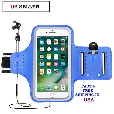 A Sports Gym Running Jogging Armband Arm Band Bag Holder Case Cover - Cell Phone