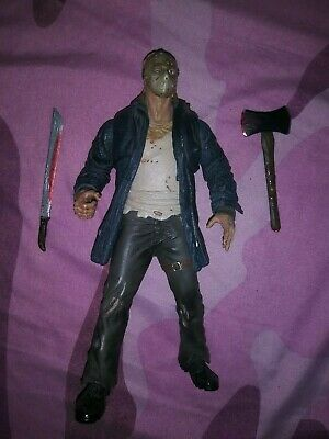 Mezco Cinema of Fear 2008 Friday the 13th Remake JASON VOORHEES figure