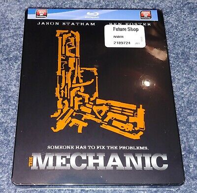 The Mechanic Bluray Steelbook Futureshop Factory Sealed