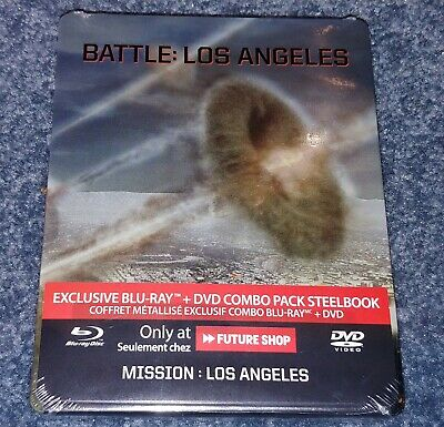 Battle: Los Angeles Bluray Steelbook Futureshop Factory Sealed