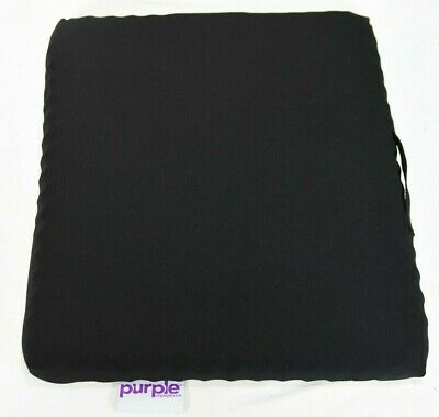 "Purple Seat cushion with washable cover, 18""x15""x2"""