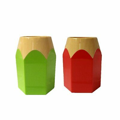 Creative Pen Vase Pencil Pot Pen Holder Stationery Desk Tidy Container BZ