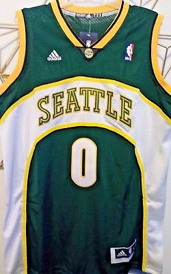 buy online 313f6 1a4c1 ray allen supersonics jersey for sale