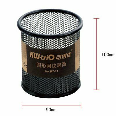 BT-01 Metal Fashion Mesh Pen Holder With A Sponge Base To Protect The Tip BZ