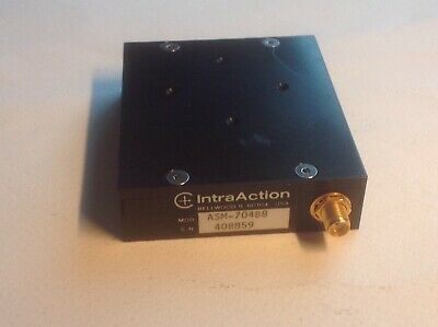 IntraAction Neos AOM acoustic optical modulator UV laser DPSS 3D SLA