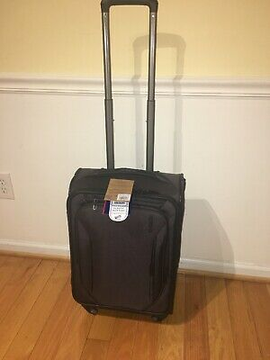 """American Tourister GO 2 22"""" Softside Carry-On Spinner Luggage - Display Model"""