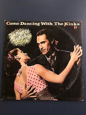 THE KINKS Come Dancing With Greatest Hits 1977-1986 LP Vinyl VG+/VG+