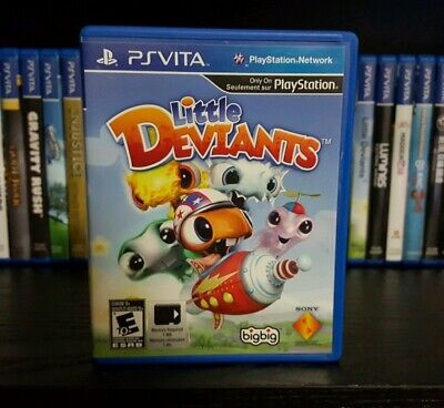 Little Deviants (Sony PlayStation PS Vita, 2012) FREE SHIPPING CANADA