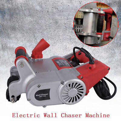 Red 110V Electric Wall Slotting Machine Wall Chaser 30MM Concrete Cutter Machine