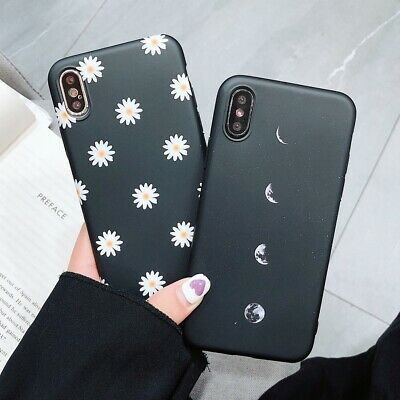 Slim Shockproof For iPhone 6S 7 8 Plus XS Max Matte Protective Cover Case Cute