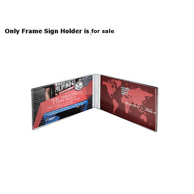 Clear Acrylic Dual Frame Sign Holders 6W x 4H Inches - Pack of 10