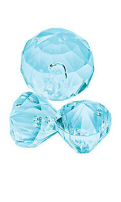 Accent Gems in Aqua for Silver Jewelry - Pack of 30