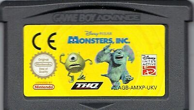 GameBoy Advance Monsters Inc AGB-AMXP-UKV (See Pic)