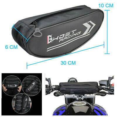 Oxford Cloth Motorcycle Front Handlebar Bag Waterproof Travel Cycling Storagebag