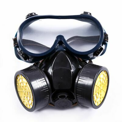 Emergency Safety Respiratory Gas Laboratory Painting Dust Mask Dual Protection