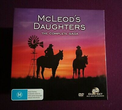Mcleods daughters The Complete Saga. . The UltimateBox Set! All 52Discs
