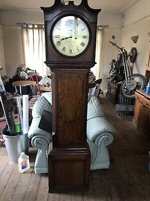Whitehurst Derby  Mahogany Longcase Grandfather Tall Case Clock