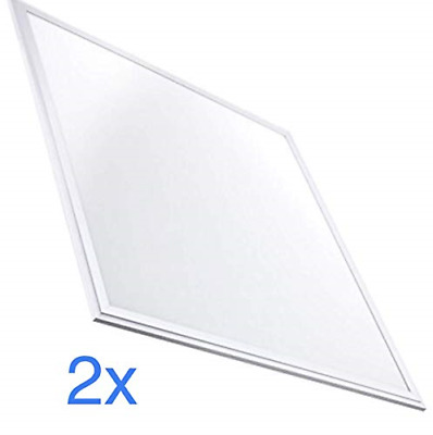 LED Atomant Panel LED Slim 40 W, 4500 K, 3000 Lm, White Frame, 60 x 60 cm, Pack