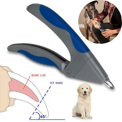 Pet Cat Dog Nail Clippers Claw Toe Paw Trimmer Scissor Stainless Grooming Tool