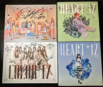 IZ*ONE/IZONE ALL MEMBER/YENA/CHAEYOUNG/YURI/EUNBI Signed Album COLOR US Seller