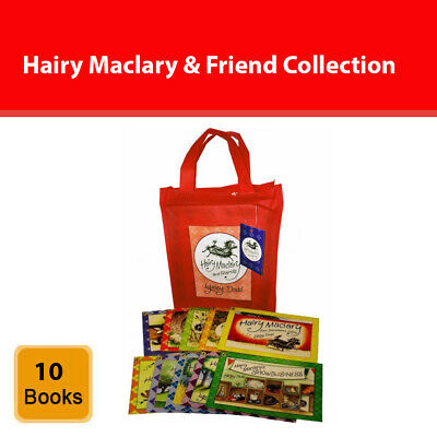 Hairy Maclary & Friend Collection Lynley Dodd 10 Books Set in a Bag Pack NEW