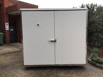 Refrigerated Shipping Container, Custom Units For Cold Storage, 2 Pallet Wide