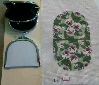 Lee's Needle Arts coin purse and canvas insert