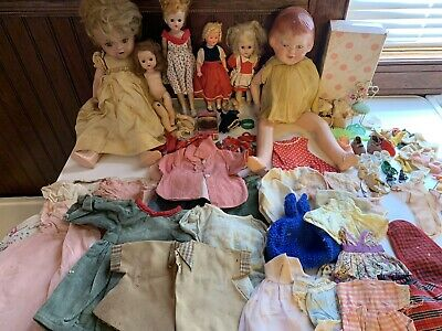 Vintage Dolls Vogue Storybook Composite Accessories Clothes Lot Preowned
