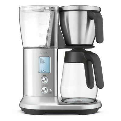 Breville BDC400 Precision Brewer Glass Coffee Maker - Brushed Stainless Steel