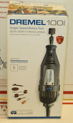 Dremel  100 Series  1//8 in Corded  Rotary Tool  Kit 120 volt 35000 rpm 7 pc.