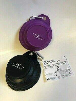 John Wick: Chapter 3 - Parabellum collapsible dog bowls (set of 2) NEW