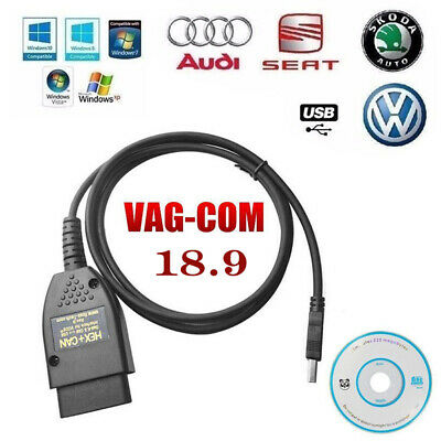 VAG COM 18.9 VAGCOM 18.9.0 VAG HEX + CAN Câble diagnostic automatique voiture FR