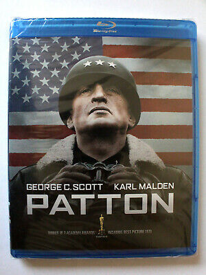 PATTON Blu-ray 2-Disc 2012 Fox George C Scott Karl Malden General World War II