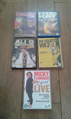 DVD Peter Kay Micky Flanagan Live Ali G Bo Selecta Volume 3 Series Comedy BUNDLE